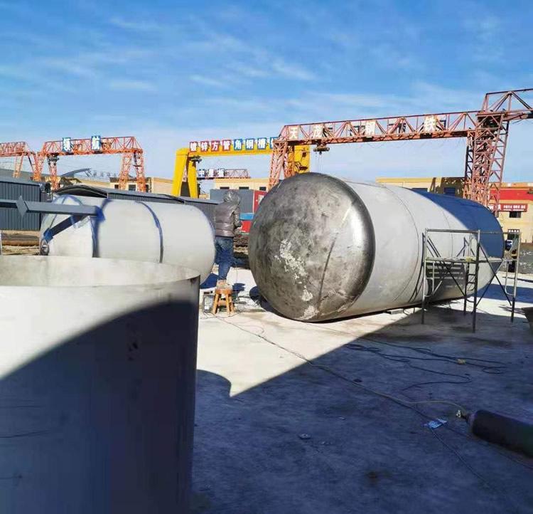 郑州不锈钢压力容器罐加工厂家